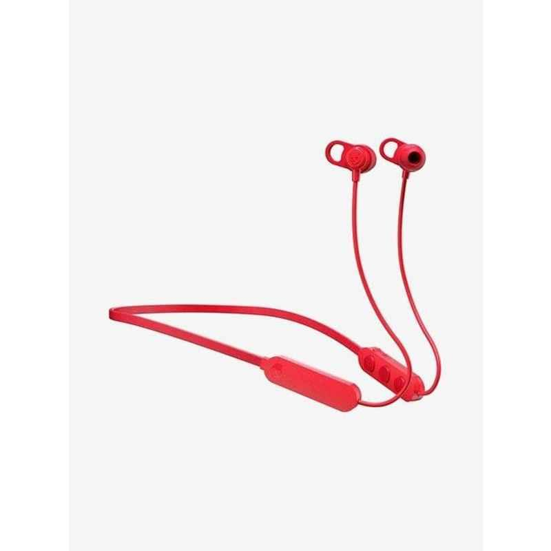 Skullcandy Jib Plus Red Bluetooth Neckband with Mic, S2JPW-M010