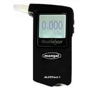 Mangal Alco Test-1 Digital Alcohol Breath Tester Warm up Time - 10 Sec