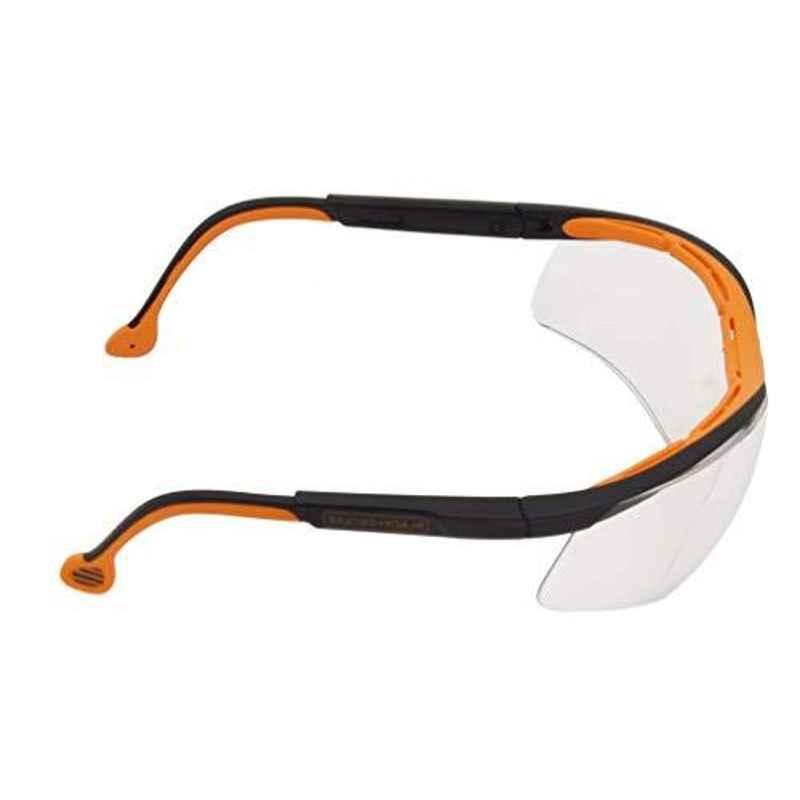 Black & Decker UV Protected Safety Spectacle with Side Inclination Arm, BXPE0504IN