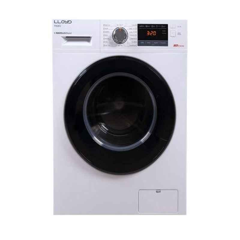Lloyd MagicQ 6kg White Fully Automatic Front Load Washing Machine, LWMF60WX1