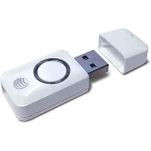 AT&T White Charging USB Adaptor with Turbo Boost, RUA01