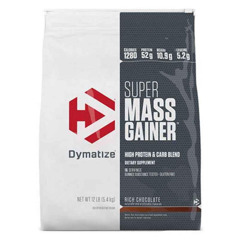 Dymatize 12lbs Rich Chocolate Super Mass Gainer