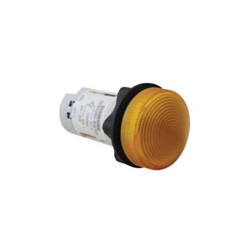 Siemens 220-240V AC Compact LED Amber Indicating Lamp, 3SB5285-6HL03
