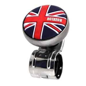 AllExtreme EXSWSUJ1 33mm Union Jack Steering Wheel Suicide Spinner Knob