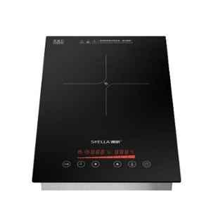 Stella Black Stainless Steel Touch Induction Schott Ceran for Restaurant, TS-26C01