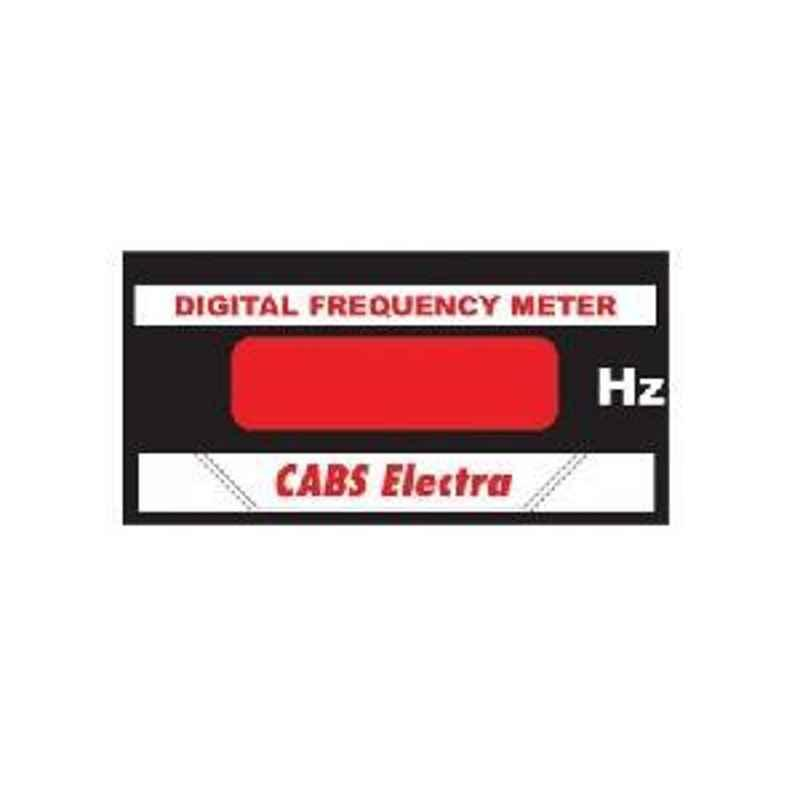 Metravi CE-500F 96x48mm sq Digital Frequency Meter 0-9999Hz