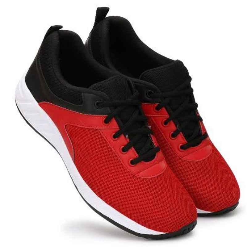 Mr Chief 4172 Red Smart Sports Running Shoes, Size: 6
