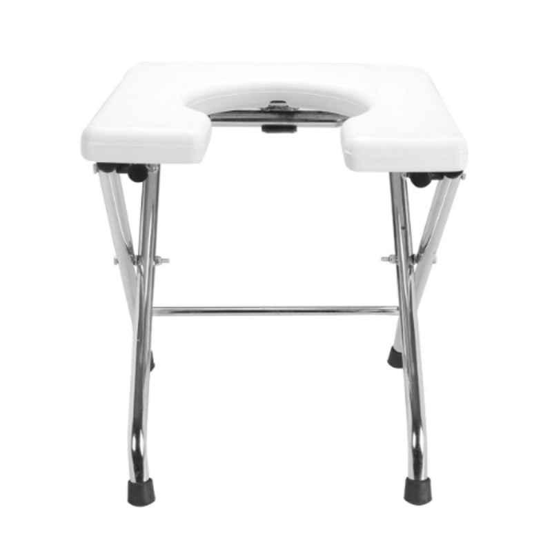 Fast Life Folding Stainless Steel Commode Chair, RS-025Q