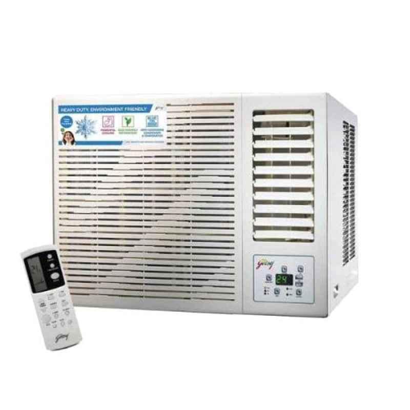 Godrej 1.5 Ton 5 Star White Window Air Conditioner, GWC18DTC5