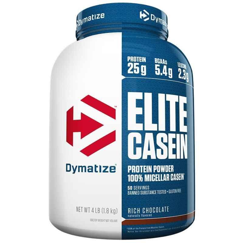 Dymatize Elite Casein 4lbs Rich Chocolate Whey Protein
