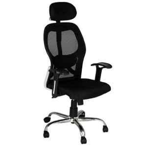 Da Urban Metrix Black High Back Revolving Office Chair
