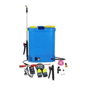 Power 20L 12V Blue Double Motor Knapsack Battery Operated Sprayer