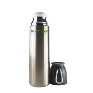 Bio Leafage 500ml Golden Stainless Steel Flask Water Bottle, BLWBG001-500ML