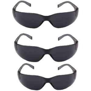 RPES Black Polycarbonate Safety Goggles (Pack of 3)
