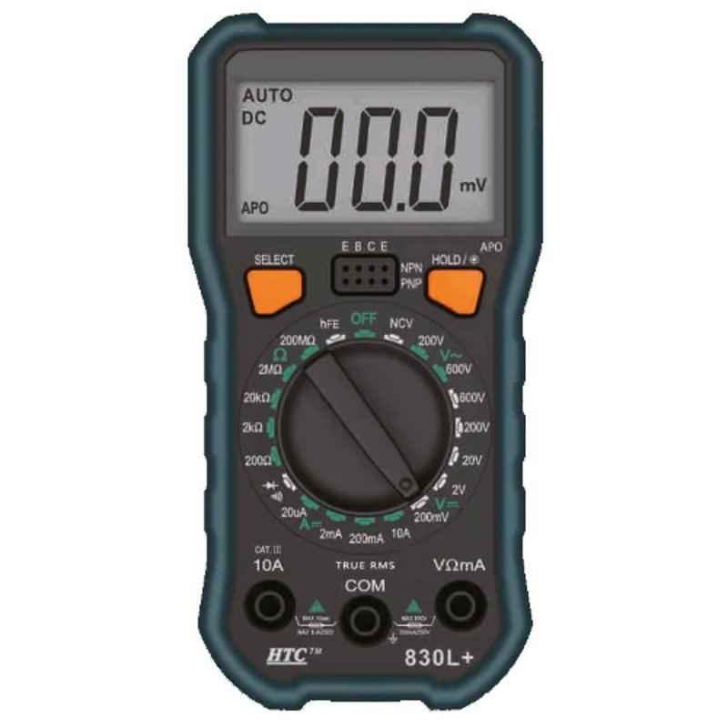 HTC DM-830L+ Digital Manual Multimeter with Backlight