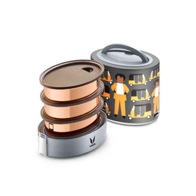 Vaya Tyffyn Super-Auto 1000ml Stainless Steel Lunch Box