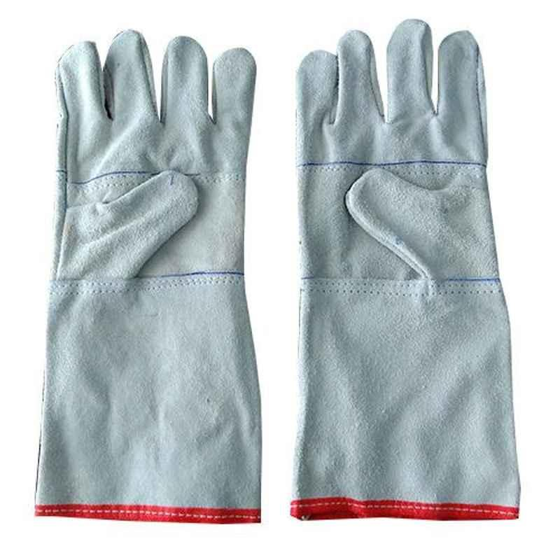 Siddhivinayak 14 inch Leather Hand Gloves (Pack of 50)