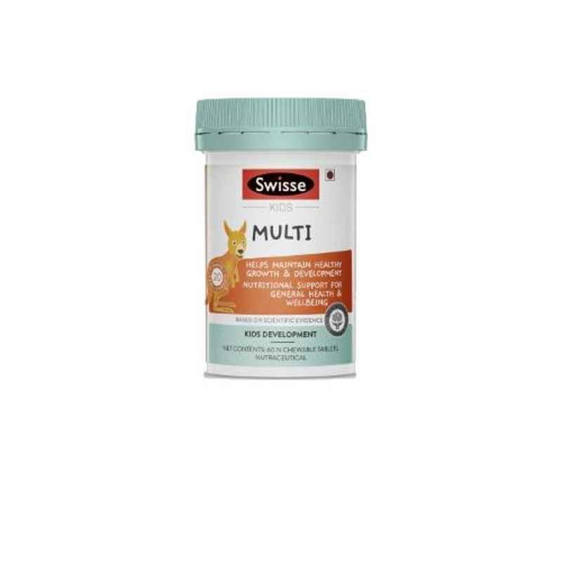 Swisse 60 Pcs Ultiboost Kids Multivitamins Tablets, HHMCH9541100602