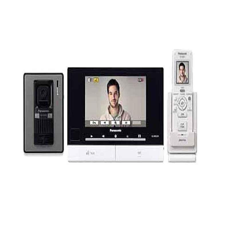 Panasonic SX Video Door Phone with 7 inch Screen & 1 Wireless 2 inch Screen & 1 Outdoor Camera, VL-SW274