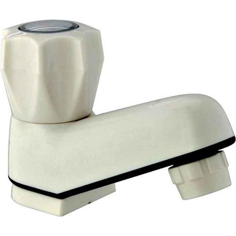 Natraj ABS Pillar Faucet Wash Basin Tap, ABS4301