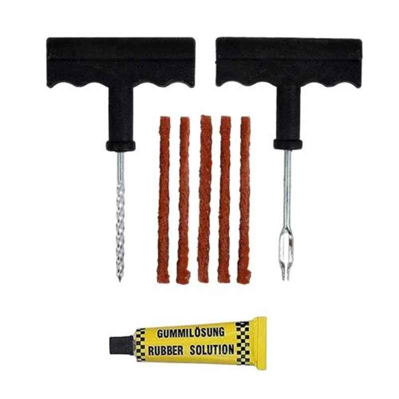 Tirewell TW-5010 4 in 1 Universal Tubeless Tyre Puncture Patch Tools Repair Kit