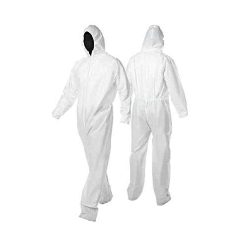 Bluekites 90 GSM White PPE Coverall Sterile Kit