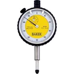 Baker K02 10mm Plunger Type Dial Gauge