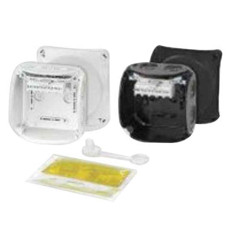 Hensel 1.5-2.5 Sqmm Cable Junction Box, Dimension: 104x104x70 mm, WP0402B (Pack of 5)