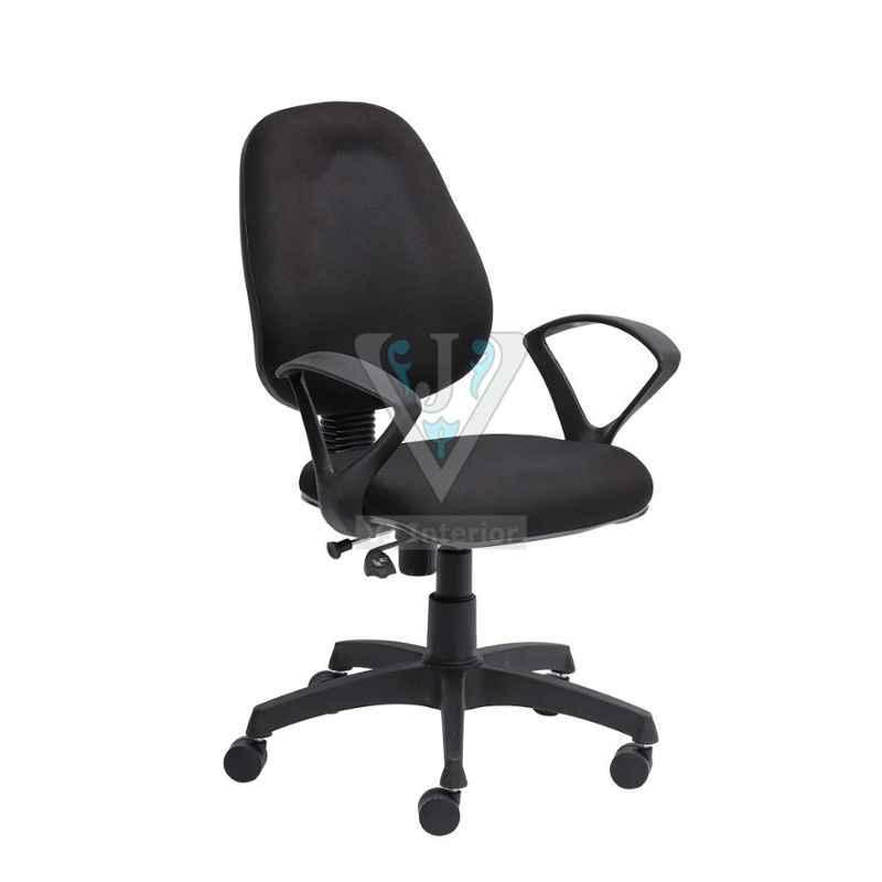 VJ Interior 18x17.5 inch Fabric Push Back Chair, VJ-WFH-1813