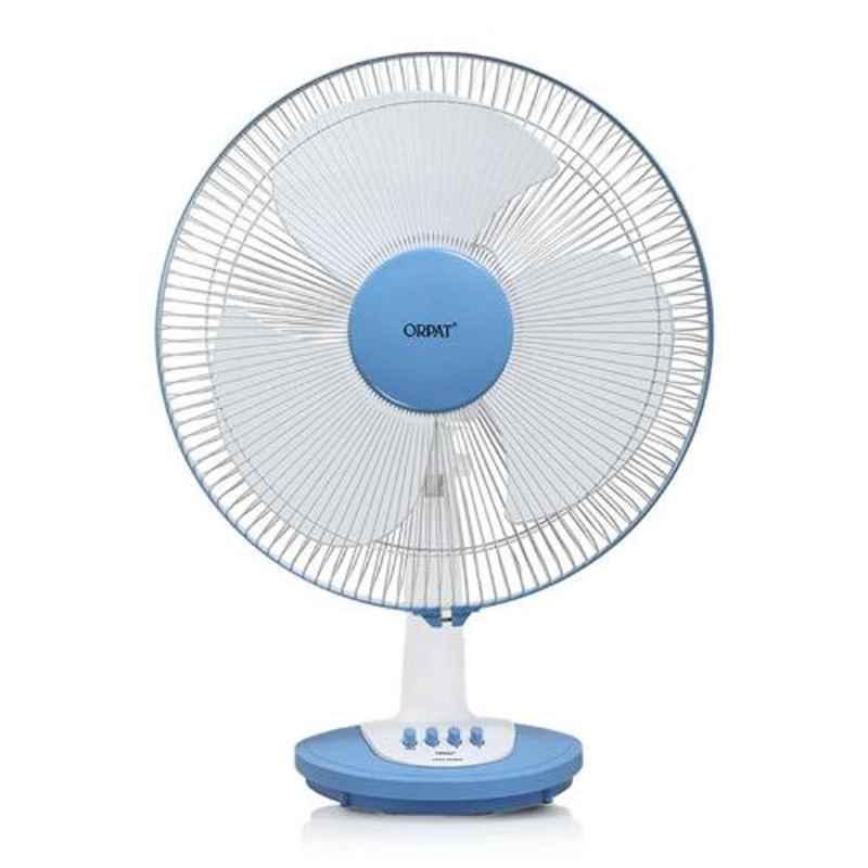 Orpat Otf-3337-HS 110W Baby Blue Table Fan, Sweep: 16 inch