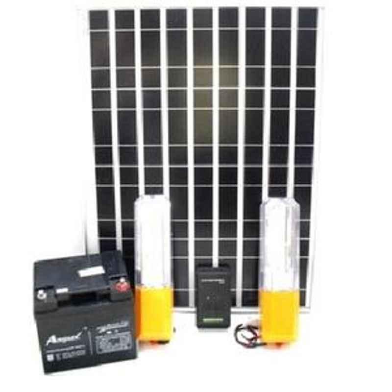 King Sun Solar Home Lighting System 37 Watt 12V Model No KSHL-02S