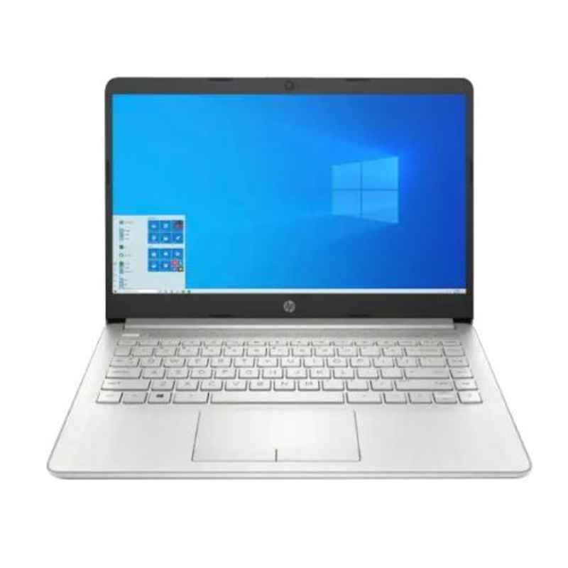 HP 14S-ER0003TU Intel i5/8GB DDR4 RAM/1 TB SATA HDD & 14 inch Display Natural Silver Laptop, 3C465PA