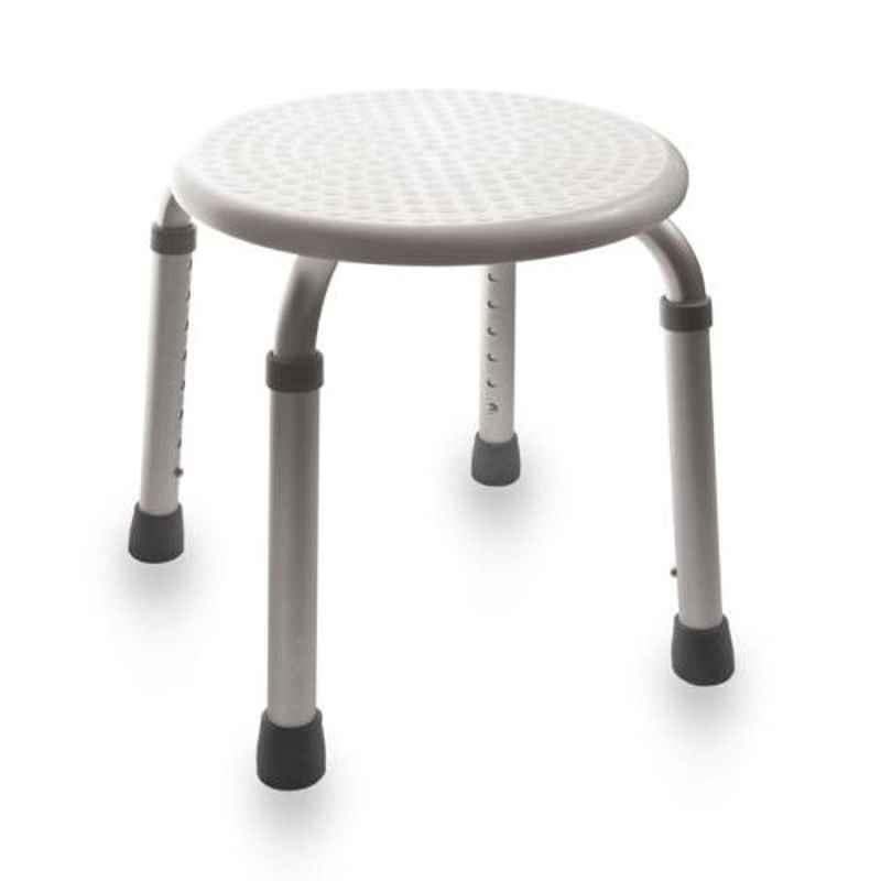 KosmoCare 25cm Shower Stool Round Seat, RX106