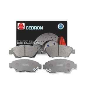 Cedron 4 Pcs CD-192 Front Brake Pads Set for Mahindra Marazzo, 0603BAB0030KT