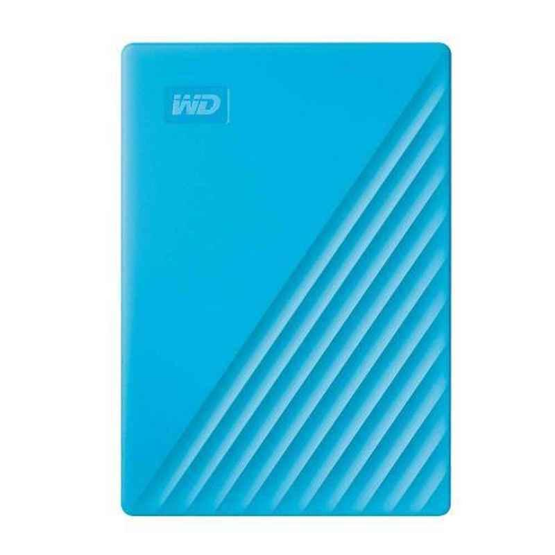 WD My Passport 2TB USB 3.0 Blue Portable External Hard Drive with Automatic Backup, WDBYVG0020BBL-WESN