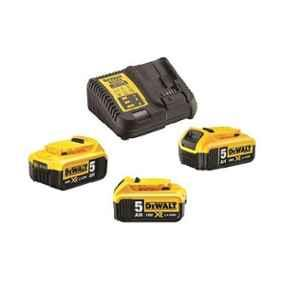 Dewalt DCB115P3-QW 18V XR Charger & 3x5Ah Battery Kit