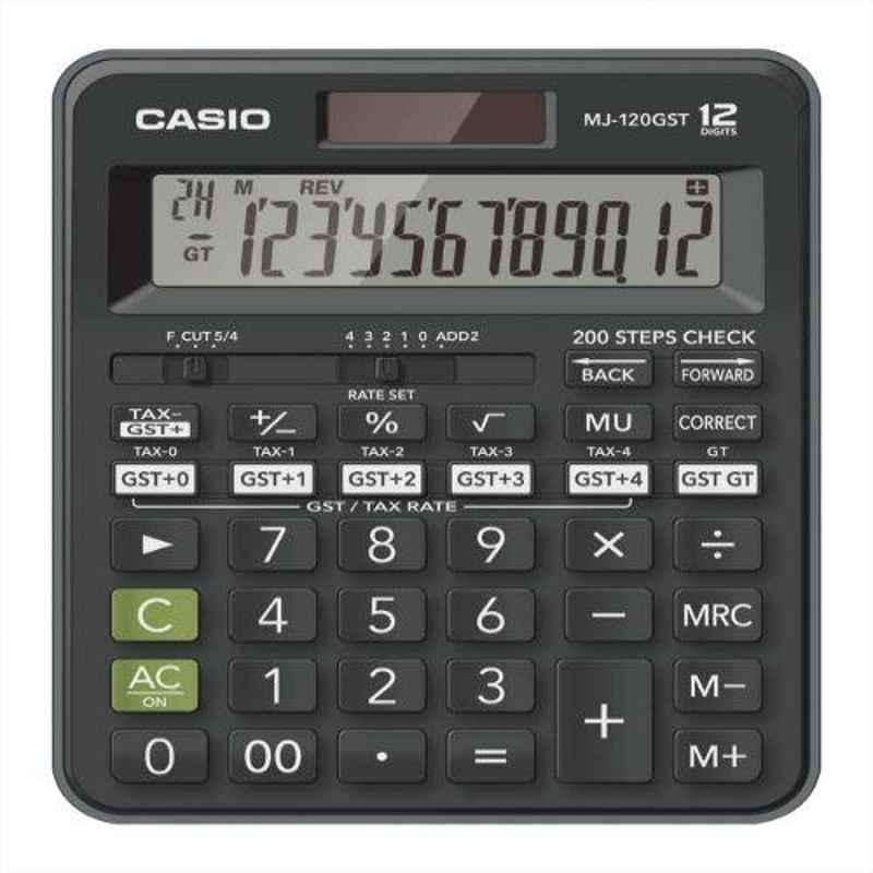Casio MJ-120GST 12 Digits GST Calculator