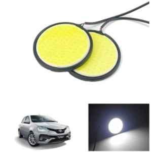 Autolane 2 Pcs LED Fog Lamp Light for Toyota Etios Set