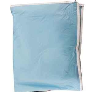 Bluekites Blue Waterproof Baby Bed Protector Sheet Kit