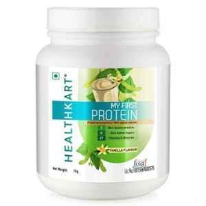 Healthkart 1kg Chocolate Beginners Protein with Whey & Casein, HNUT9187-01