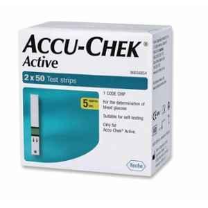 Accu-chek Active Test Strips (100 Strips)