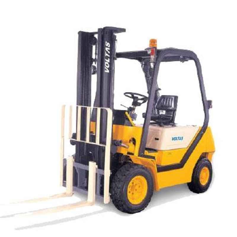 Voltas 3000kg 3 Stage Diesel Powered Forklift, DVX 30 FC BC HVT 2600
