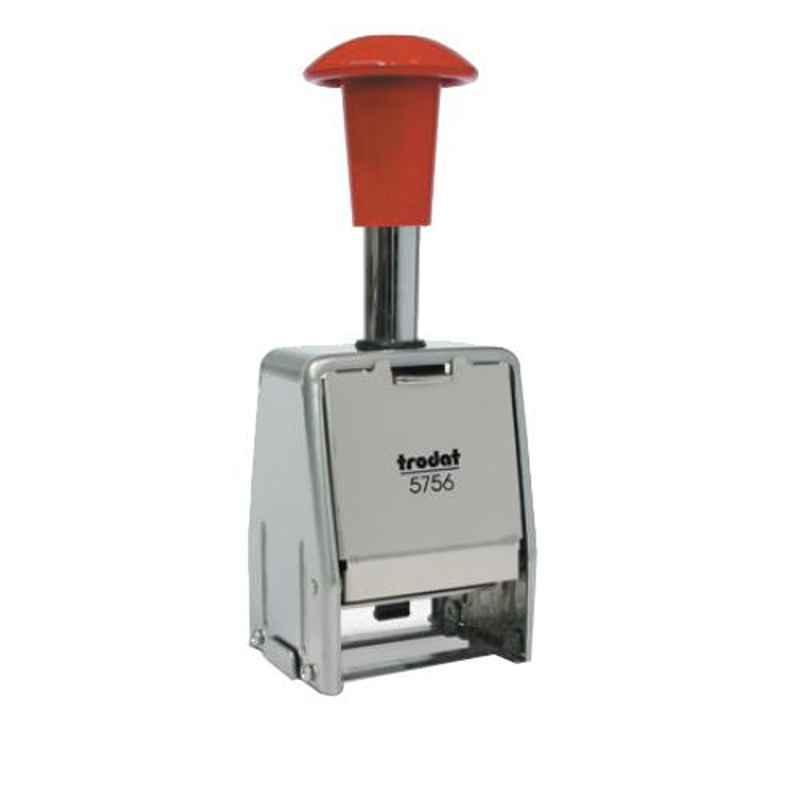 Trodat Metal & Plastic Automatic Numbering Machine, 5756