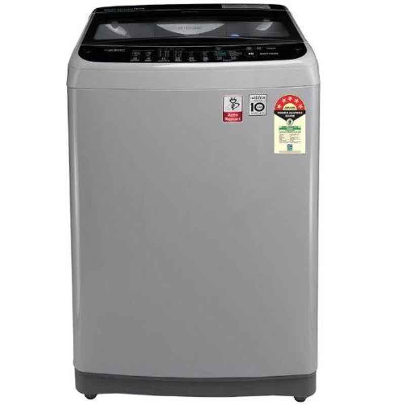 LG 10kg 5 Star Middle Free Silver Top Load Automatic Washing Machine, T10SJSF1Z