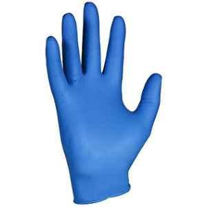 Kleenguard G10 200 Pcs Large Ambidextrous Powder Free Arctic Blue Nitrile Glove Box, 90098 (Pack of 10)