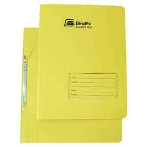Bindex Yellow Laminated Office File, BNX10A2-Yellow-L (Pack of 5)