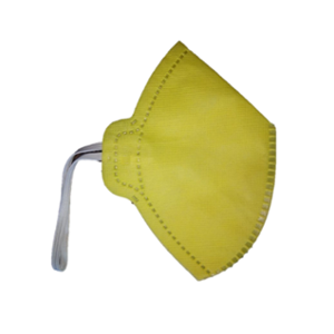 Siddhivinayak Yellow Non-Woven Face Mask (Pack of 500)