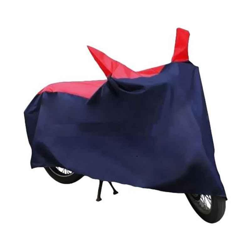 HMS Dustproof Red & Blue Bike Body Cover for Honda CB Twister