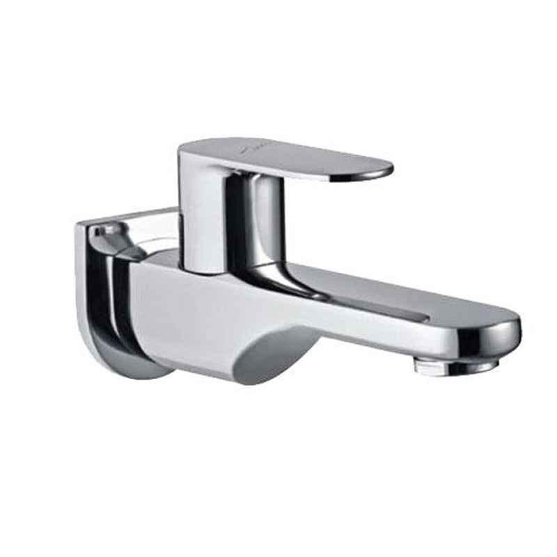 Jaquar Opal Prime Stainless Steel Bib Cock Tap with Wall Flange, OPP-SSF-15037PM