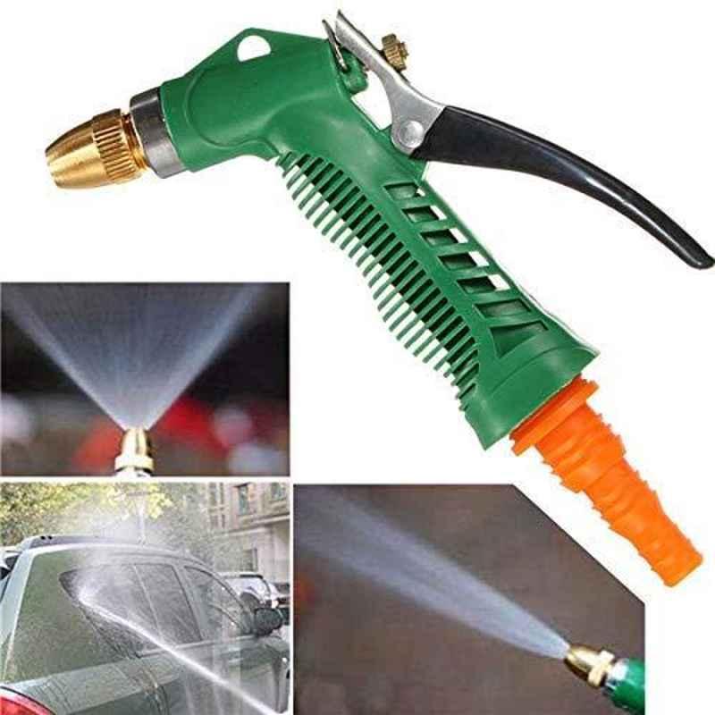 Love4ride Plastic Trigger High Pressure Water Spray Gun for Car, Bike, Plants & Gardening Washing